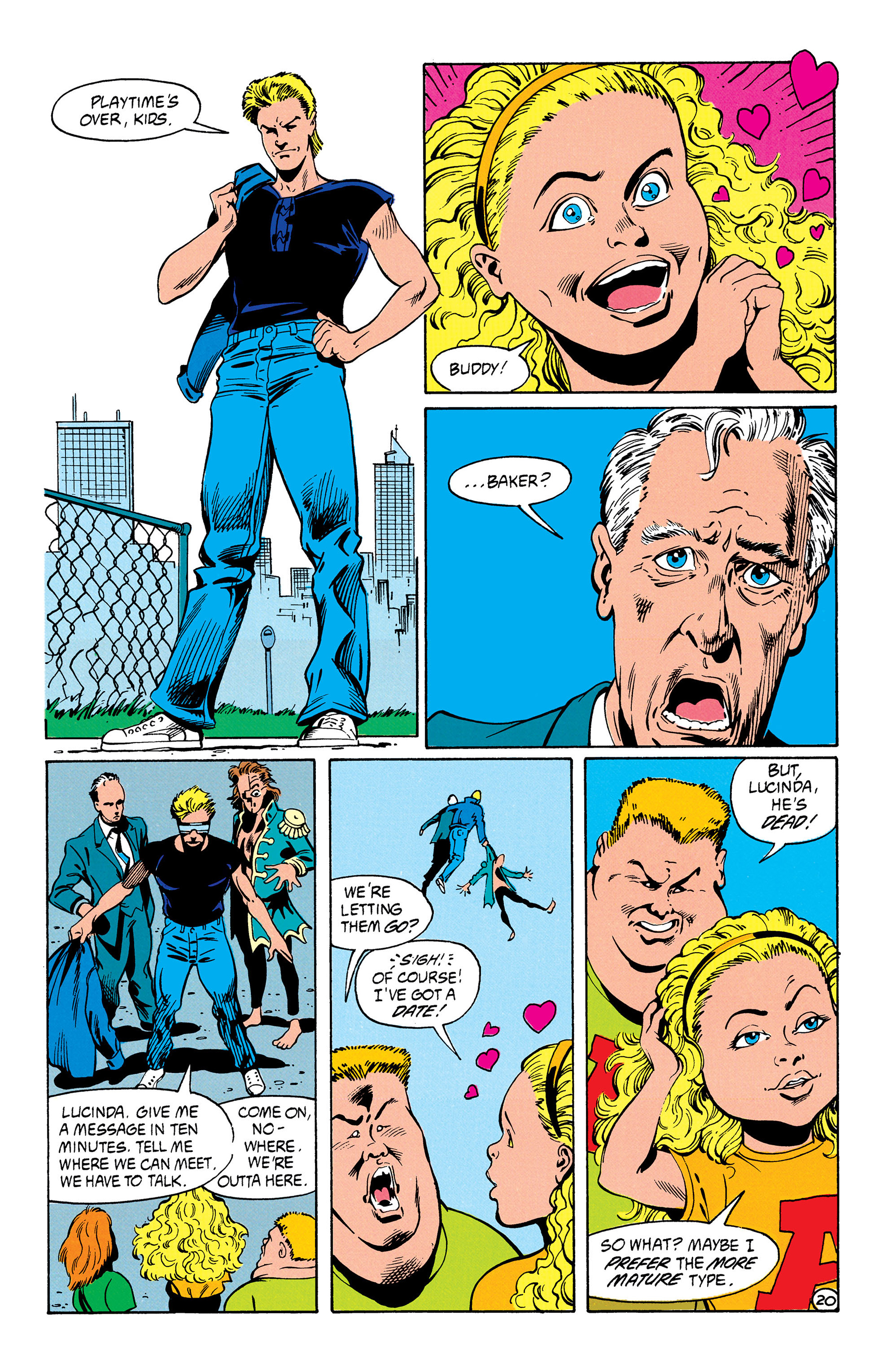 Read online Animal Man (1988) comic -  Issue #31 - 21