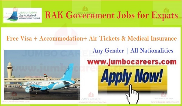 International airport jobs in RAK, Government jobs in RAK,
