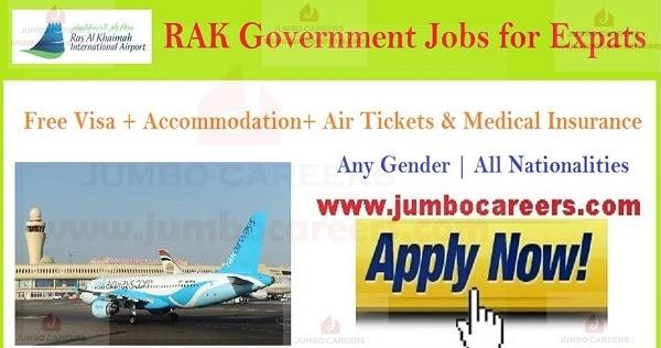 Latest Jobs Careers at Ras Al Khaimah (RAK) International Airport 2019