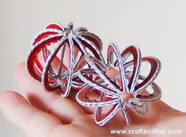 Amato Riciclo Creativo - Craft and Fun: Palline di Natale personalizzate  NZ49