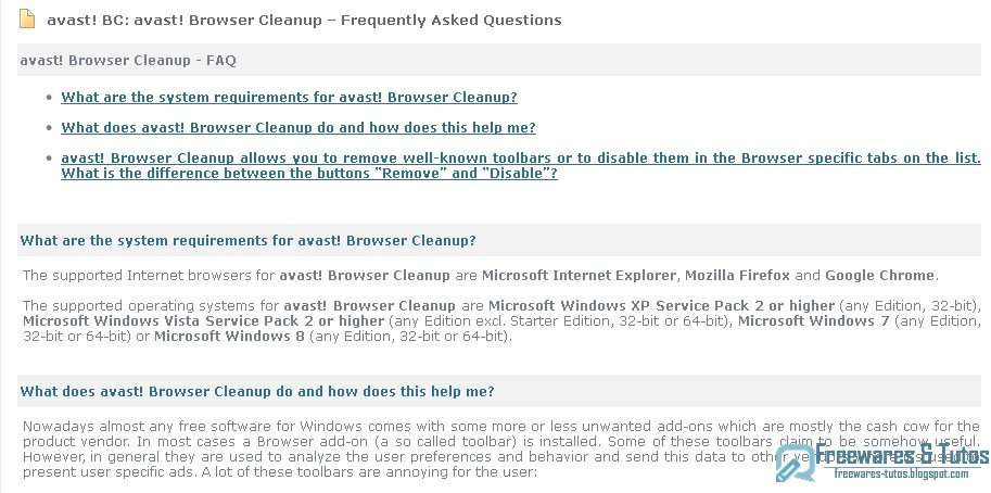 avast browser cleanup tool portable