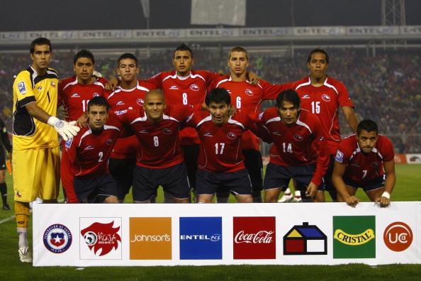 Formación de Chile ante Venezuela, Clasificatorias Sudáfrica 2010, 5 de septiembre de 2009
