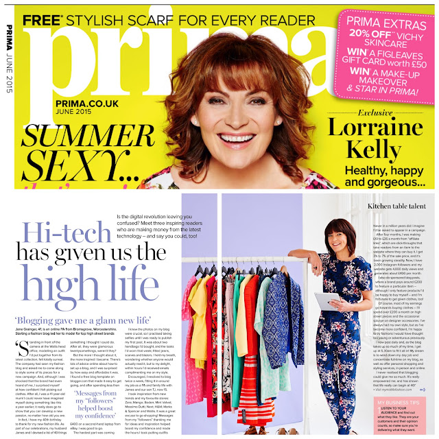 My Midlife Fashion Prima Magazine