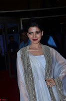 Samantha Ruth Prabhu cute in Lace Border Anarkali Dress with Koti at 64th Jio Filmfare Awards South ~  Exclusive 020.JPG
