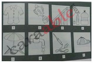 Contoh gambar tes wartegg dan kunci jawaban + pembahasan soal psikotes