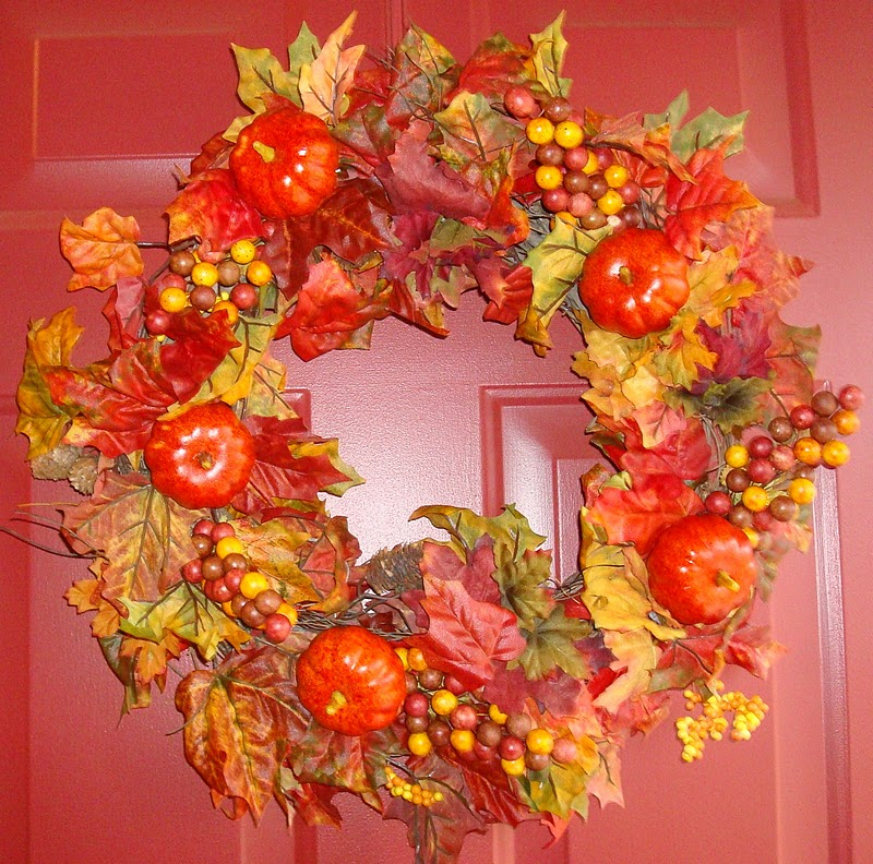 Making It Feel Like Home: My Fall Wreath