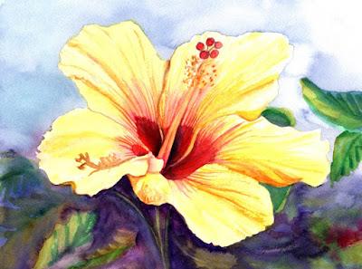 https://www.kauai-fine-art.com/listing/523408051/yellow-hibiscus-original-hibiscus