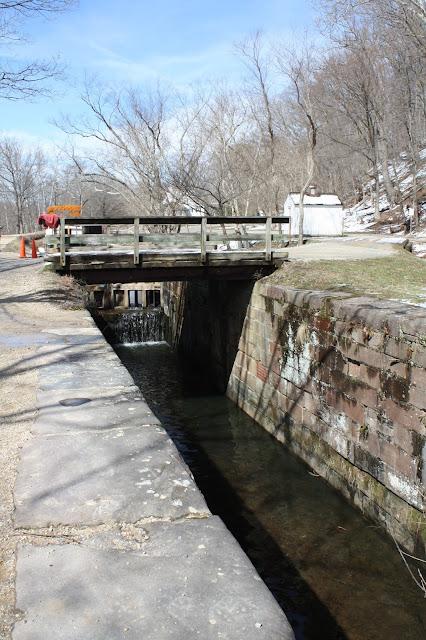 Locks at Great Falls in Maryland
