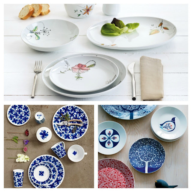 Dishes and Tableware With Flowers 1