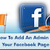 How to Make Admin On Facebook Page