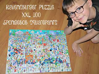 Ravensburger XXL 100 Puzzle - Spongebob Squarepants