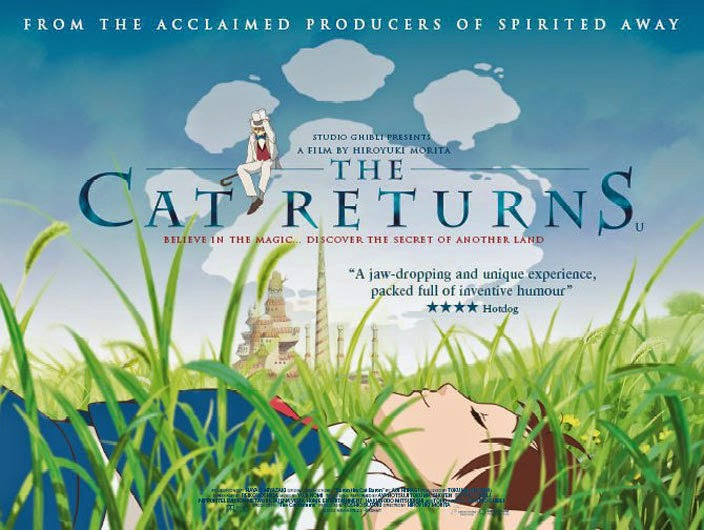 The Cat Returns 2002 animatedfilmreviews.filminspector.com