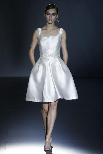 vestidos de novia cortos baratos