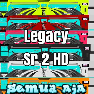 Livery Bus Legacy Sr2 HD Berbagai Warna Terbaru