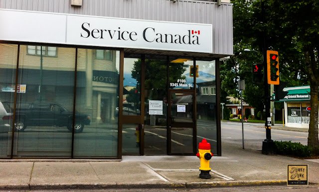 Service Canada photo to get passport