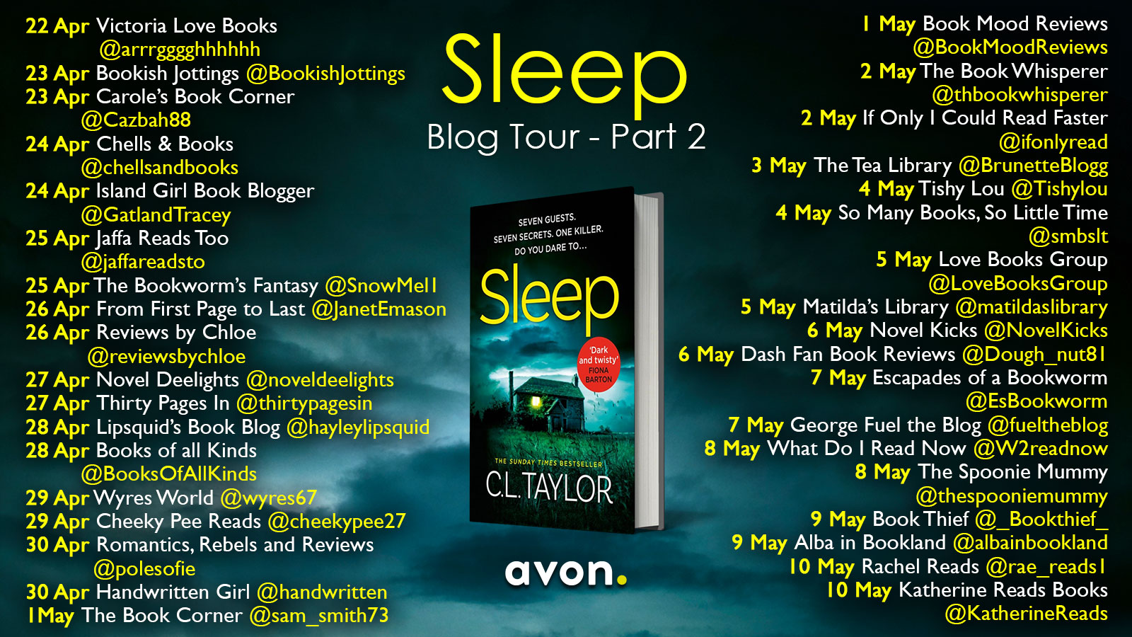 Sleep Blog Tour