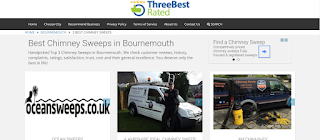 best 3 rated chimney sweeps in bournemouth dorset