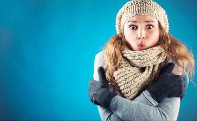 Ropa, mujer, invierno