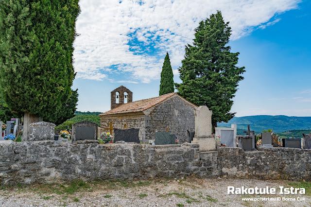 Crkvica Svetog Nikole Rakotule @ www.poistri.eu