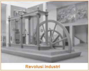 Revolusi industri - salah satu contoh sejarah sebagai peristiwa