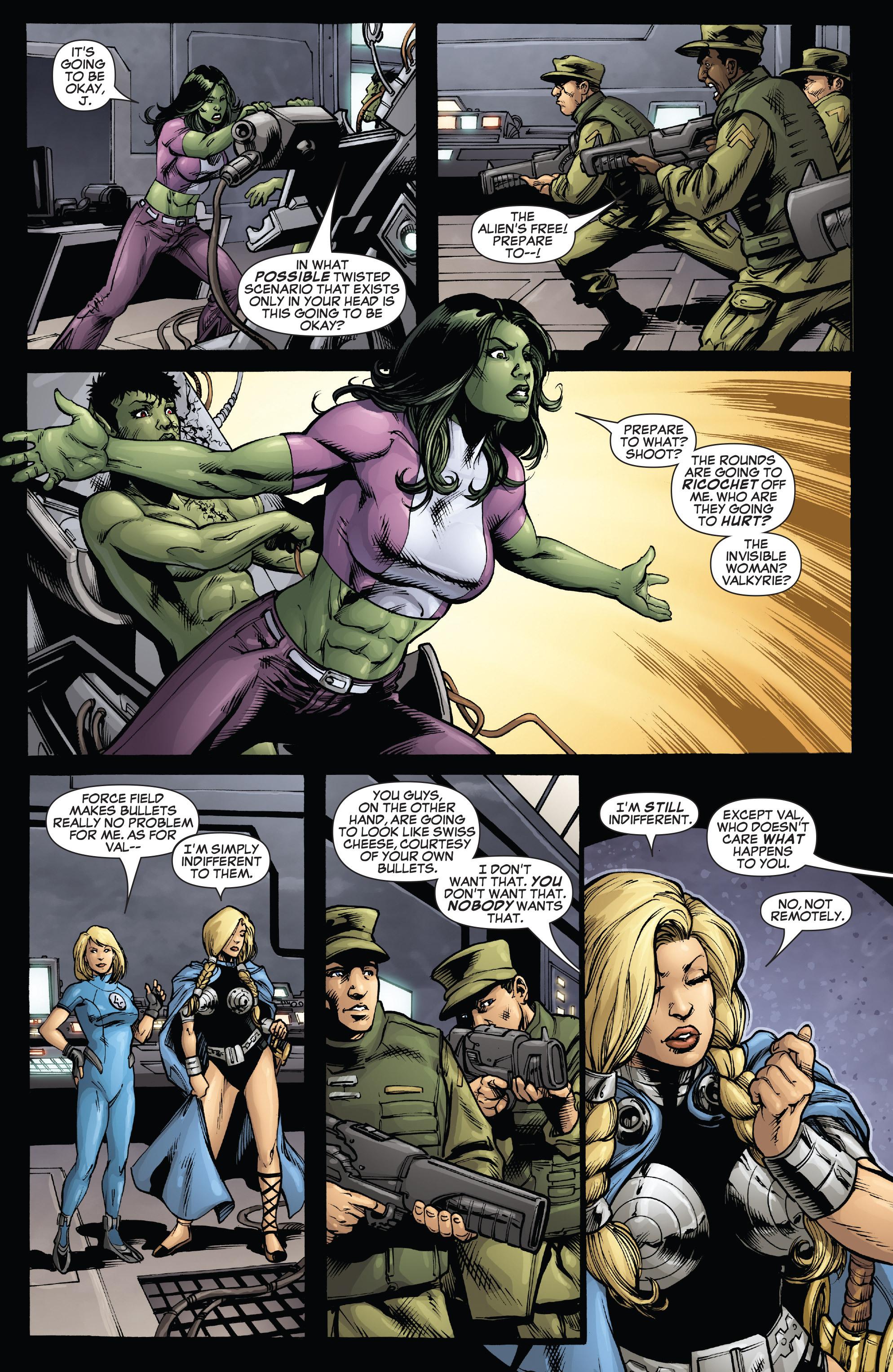 Read online She-Hulk (2005) comic -  Issue #38 - 27