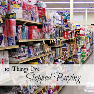 Country Fair Blog Party Blue Ribbon Winner: Oak Hill Homestead's 10 Things I've Stopped Buying