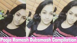 Pooja Ramesh Dubsmash Compilation