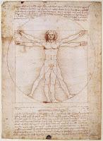 El hombre de Vitruvio (Leonardo Da Vinci)