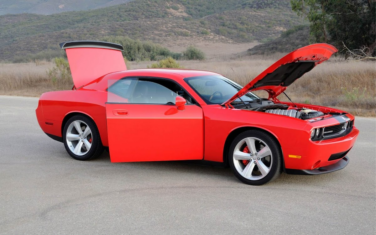 Dodge Challenger Widescreen HD Wallpaper 5