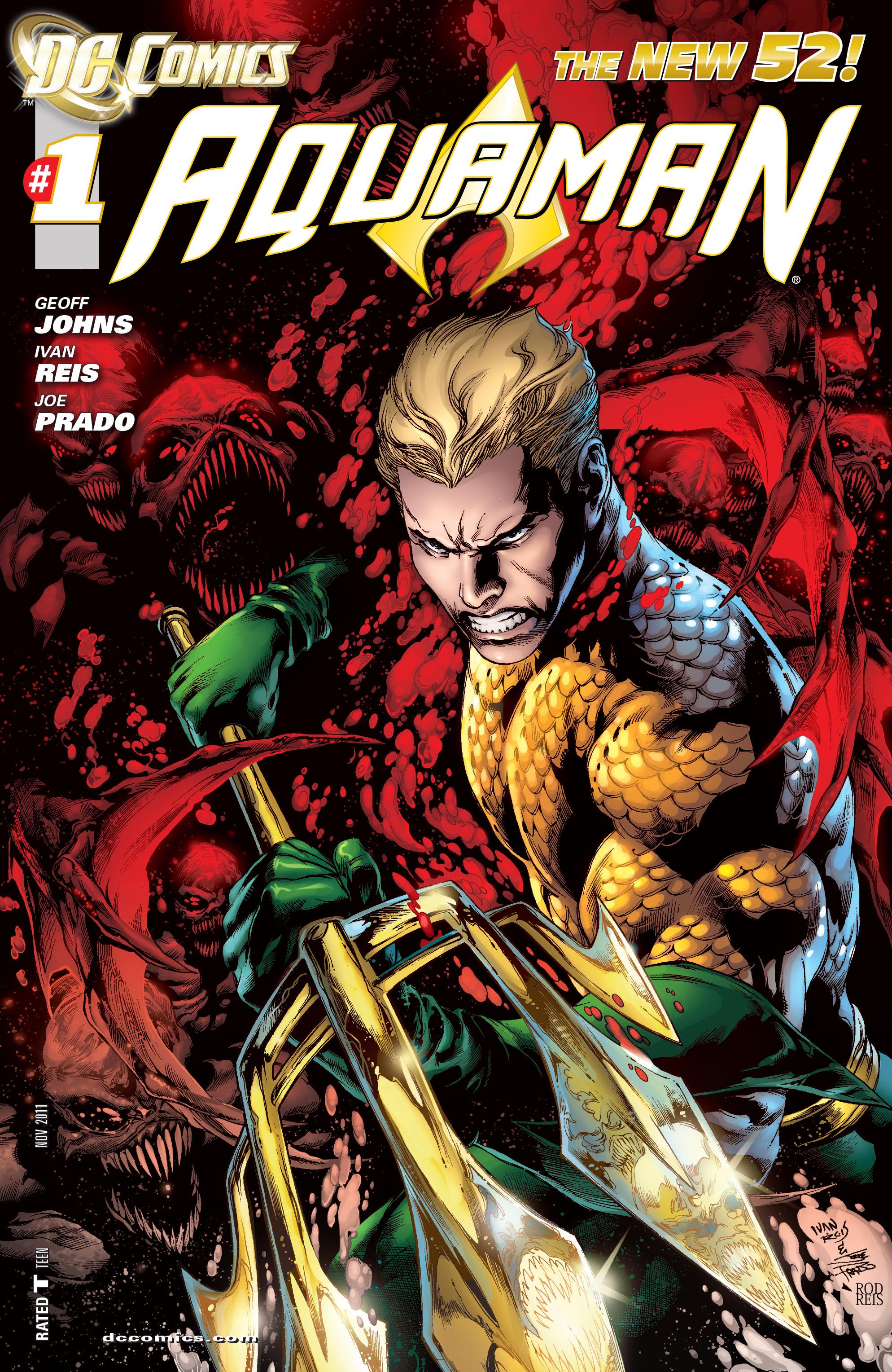 Read online Aquaman (2011) comic -  Issue #1 - 2