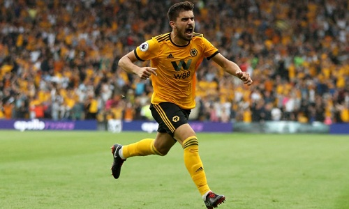 Neves của Wolves thi đấu khá ấn tượng.