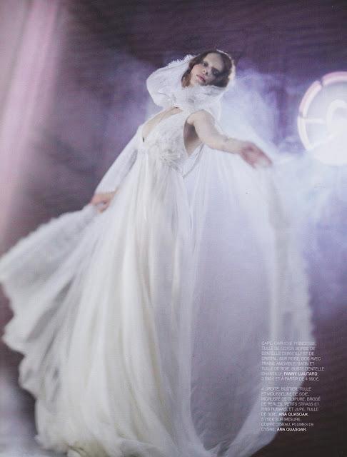 Fanny Liautard créatrice de robes de mariée en mousseline de soie