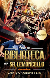 Fuga da Biblioteca do Sr. Lemoncello - HDRip Dublado