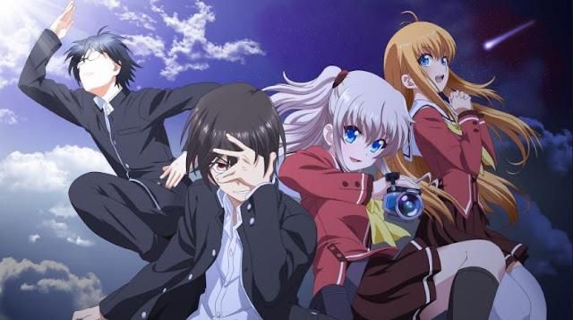 Charlotte - Anime Time Travel Terbaik (Melakukan Perjalanan Waktu)