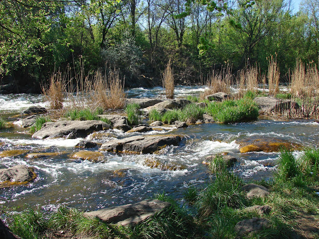 Пороги на реке Ингулец