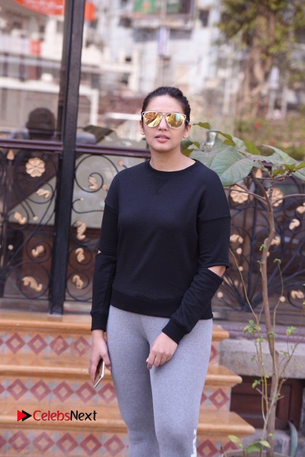 Huma Qureshi Stills At Jolly Llb 2 Promotion Event