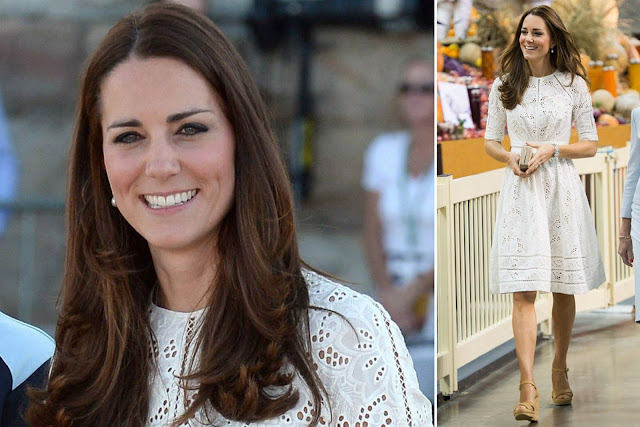 Kate Chose to wear Zimmerman