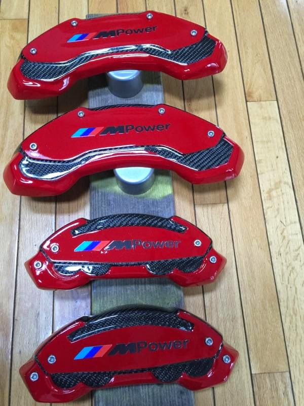 Ravenus Studios 2010 750li M Sport Brake Caliper Covers