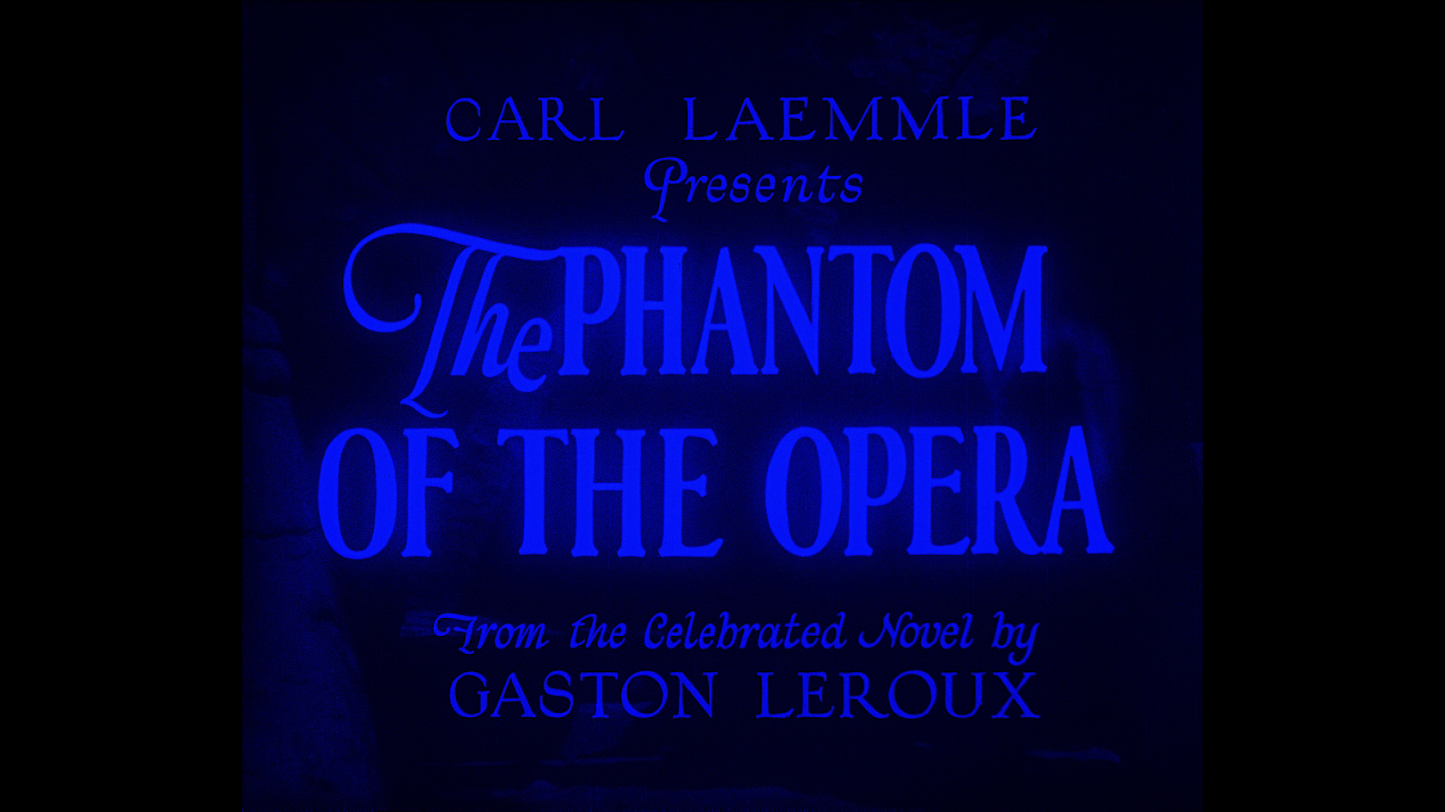 Nerdly Pleasures: Versions and Sources of the Phantom of the Opera