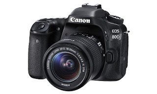 Harga Kamera DSLR Canon EOS 80D dan Spesifikasi Lengkap