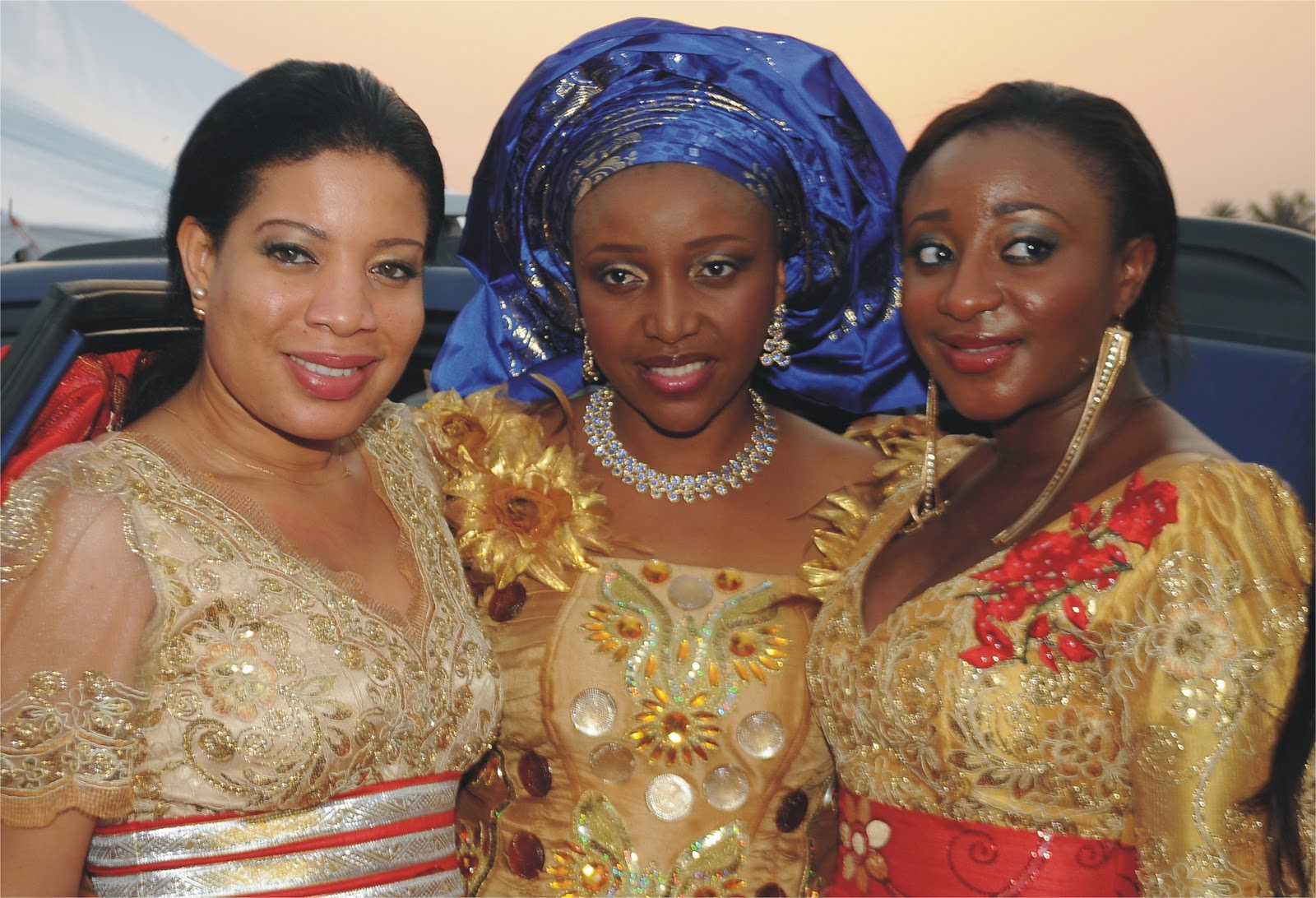 Ini Ikpe Flanked By Edo And Monalisa Chinda