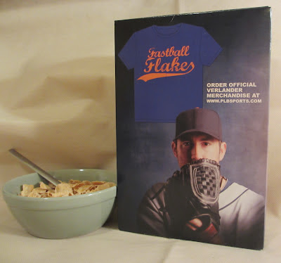 Justin Verlander Fastball Flakes back of box