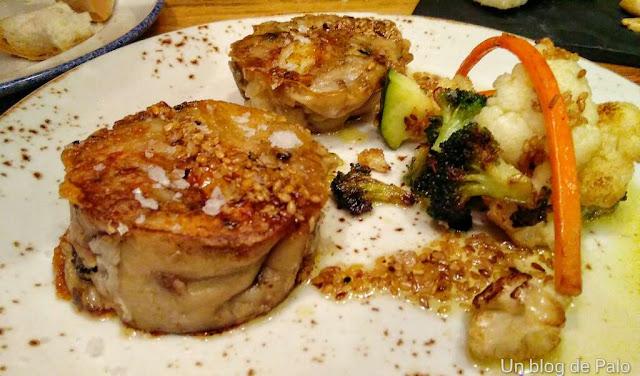 iPan iVino restaurante Salamanca, manitas de cerdo