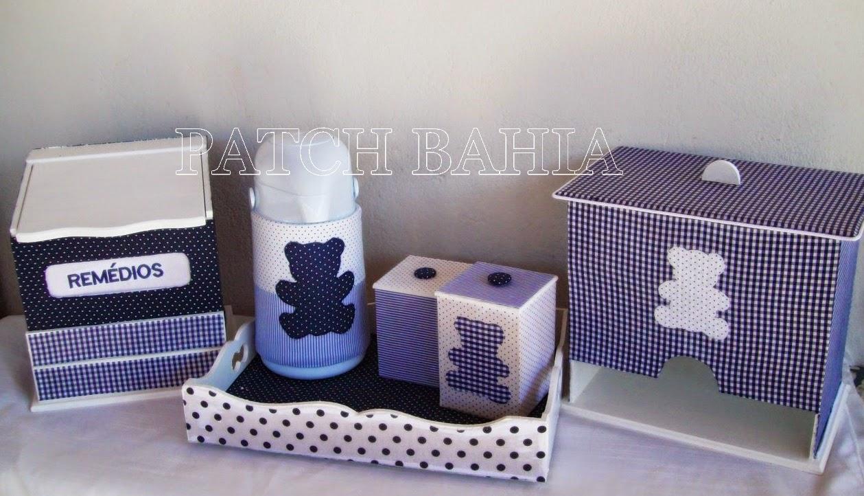 Kit Berço Azul Marinho – Ursinhos Marinho e Branco