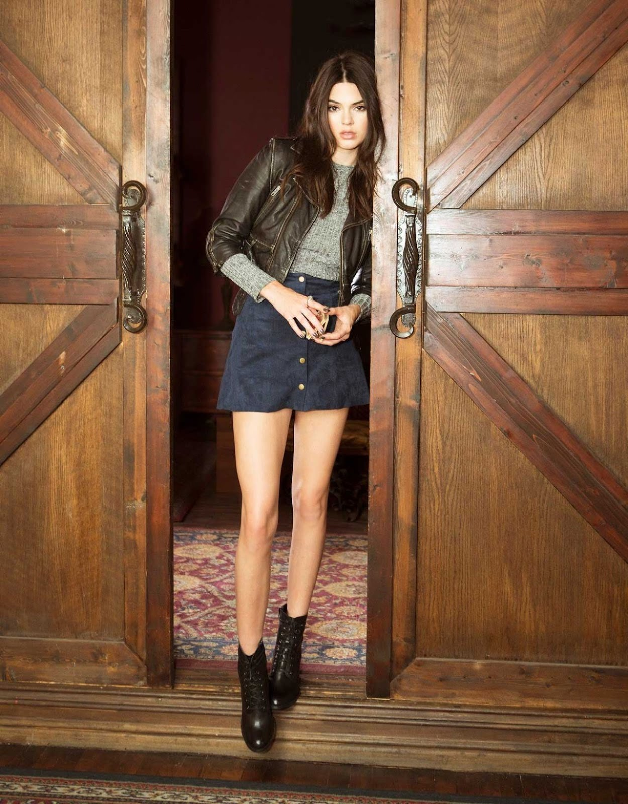 PacSun 'Las Rebeldes Fall 2015 Lookbook featuring Kendall and Kylie Jenner