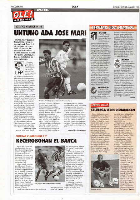 ATLETICO VS MADRID UNTUNG ADA JOSE MARI