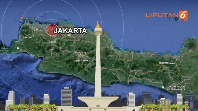 Jakarta Dibayangi Kengerian Gempa Megathrust 8,7 SR