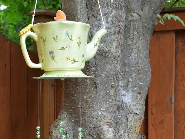 DIY Whimsical Teapot Wind Chimes
