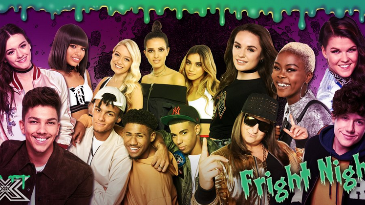 Confira tudo o que rolou na 'Fright Night' do X Factor UK!