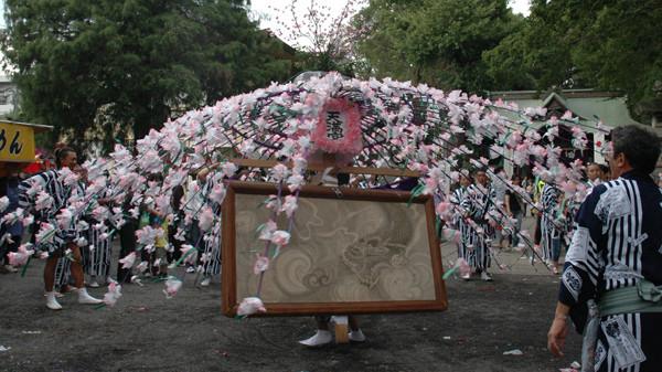 Yabo Tenman-gu Reitai-sai, Yabo Tenman-gu Shrine, JR Yaho Station and others, Kunitachi, Tokyo